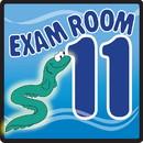 Clinton 15-4661 Clinton, Sign, Ocean Series, Exam Room 11 Sign