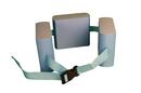 CanDo 20-4002B Cando Swim Belt With Three Oval Floats, Blue