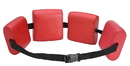 CanDo 20-4003R Cando Swim Belt With Four Oval Floats, Red