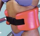 CanDo 20-4011R Cando Jogger Belt, Medium, Red