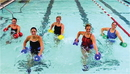 CanDo 20-4210B Cando Aquatic Exercise Kit, (Jogger Belt, Hand Bars) Small, Blue