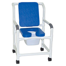 BLUE deluxe wide shower chair 22