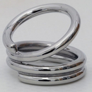 AFH swan neck ring splint, stainless steel, circumference 41mm