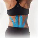 Spider Tech Kinesiology Tape, Lower Back, Black