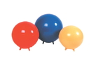 CanDo 30-1891 Cando Inflatable Exercise Ball - With Stability Feet - Yellow - 18