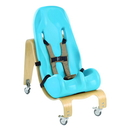 Special Tomato 30-3423TEL Special Tomato Soft-Touch Sitter Seat - Seat And Mobile Base - Size 4 - Teal