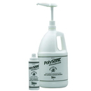 Polysonic 50-6005-4 Polysonic Ultrasound Lotion With Aloe Vera, 1 Gallon With Refillable Dispenser Bottle (Dispenser Pump Not Included) - 4 Units