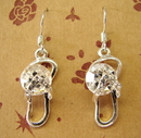 Feng Shui Import Sterling Silver Earrings - 1079