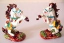 Feng Shui Import Two Running Horses - 1178