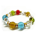 Feng Shui Import Multi Color Crystal Bracelets - 1466