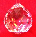 Feng Shui Import Clear Hanging Crystal Balls - 155
