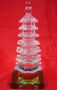 Feng Shui Import Chinese 7 Layer Crystal Pagodas - 1719