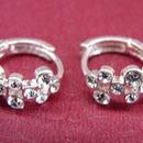Feng Shui Import Sterling Silver Stub Earrings - 222