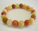 Feng Shui Import Multi-Color Stone Beaded Bracelet - 2615