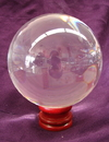 Feng Shui Import Clear Crystal Ball - 2619