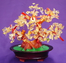 Feng Shui Import Citrine Gem Tree with Coins - 2792