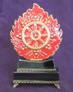 Feng Shui Import Magic Fire Wheel with Metal Base - 2825