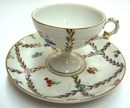 Feng Shui Import Porcelain Coffee Cup w/ Plate - 299
