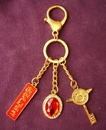 Feng Shui Import Red Coral Tuesday Talisman - 3088