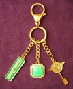 Feng Shui Import Green Gem Wednesday Talisman - 3089