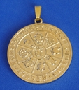 Feng Shui Import Eight Auspicious Objects Pendant for Protection - 3140