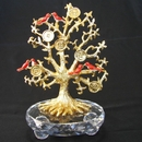 Feng Shui Import Bejeweled Tree of Life with Birds - 3321