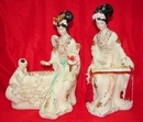 Feng Shui Import Pair of Chinese Dolls - 340