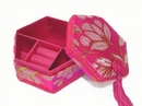 Feng Shui Import Pink Jewelry Box - 3473