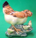 Feng Shui Import Hen with Chickens - 3559