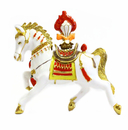 Feng Shui Import Horse Carrying Flaming Jewel of Victory - 3639