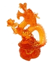 Feng Shui Import Red Fire Dragon - 3642