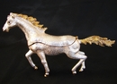 Feng Shui Import Bejeweled White Horse - 3672