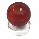 Feng Shui Import Red Crystal Globe with Omani - 3788