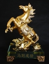 Feng Shui Import Golden Flying Horse - 3807