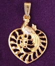Feng Shui Import Double Happiness with Phoenix Pendant - 3824