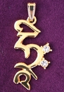 Feng Shui Import HRIH Seed Syllable Pendant - 3826