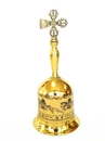 Feng Shui Import Cross Vajra Bell with Windhorse Images - 3909
