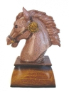 Feng Shui Import Horse Head Statue - 3943