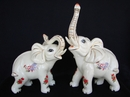 Feng Shui Import Ivory Elephants - 3976