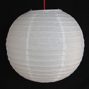 Feng Shui Import 2 of White Paper Lanterns - 3979