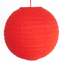 Feng Shui Import 2 of Red Paper Lanterns - 3980