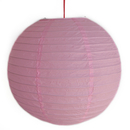 Feng Shui Import 2 of Light Pink Paper Lanterns - 3985