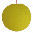 Feng Shui Import 2 of Yellow Paper Lanterns - 3986