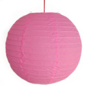 Feng Shui Import 2 of Pink Paper Lanterns - 3988