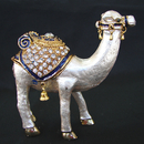 Feng Shui Import Bejeweled White Single-humped Camel - 4009