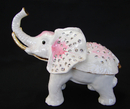 Feng Shui Import Bejeweled White Elephant Statue - 4011