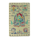 Feng Shui Import Five Dzambhala Talisman Card - 4064