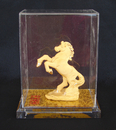 Feng Shui Import Velvet Shakin Flying Horse with Case and Gift Box - 4094