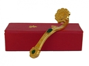 Feng Shui Import Golden Ru Yi Scepter with Auspicious Word - 4114
