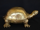 Feng Shui Import Big Brass Turtle Statue - 4140